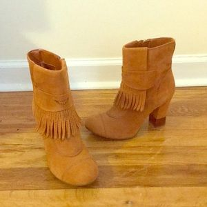 BCBGirls Real Brown Suede Boots size 6.5